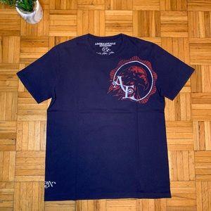 American Eagle Vintage Dark Blue T Shirt